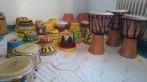 Percussion-Workshop mit Flüchtlingen, 2015